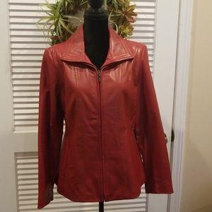 🌷Jones New York Leather Jacket 🌷